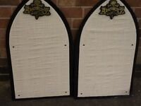 ALCHEMY GOTHIC PIN DISPLAY BOARDS 2 FOR SALE FOR ONE PRICE