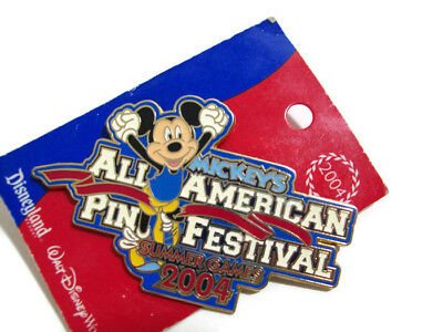 Disney Mickey Mouse All American Pin Festival Summer Sports Games Pin New