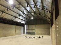 Large item storage, Long term only. Available. (Mid Ulster Area)