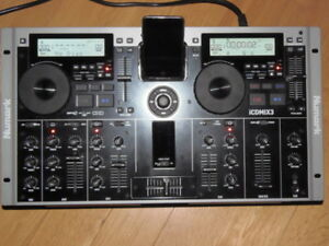 Numark iCDMIX 3 Dual MP3/CD Performance System with Universal Do
