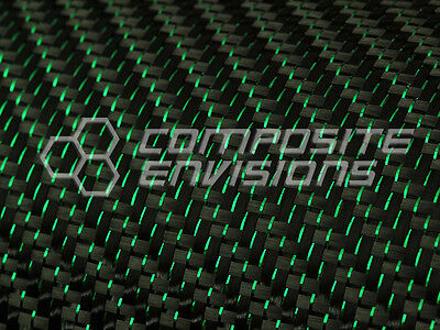 Green Reflections™ Carbon Fiber Fabric 2x2 Twill 50