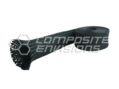 Carbon Fiber Cloth Fabric Sleeve 4.0101.6mm Diameter 3k Aerospace 7.1oz 241gsm
