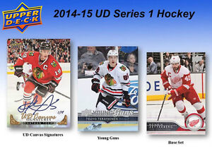 2014-15 Upper Deck Series 1 Hockey Cards Box Kitchener / Waterloo Kitchener Area image 4