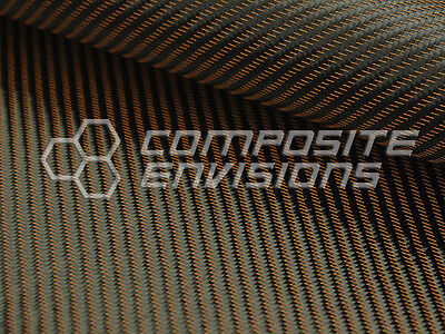 Bronze Mirage Carbon Fiber Cloth Fabric 2x2 Twill 50 3k 290gsm 8.6oz Hd