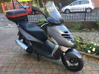 2007 APRILIA LEONARDO 300 SCOOTER ONLY 3986 MILES FINANCE AVAILABLE TOP SCOOTER £1299