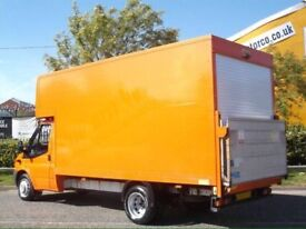 MAN AND VAN HOUSE REMOVALS FURNITURE REMOVALS NATIONAL AND INTERNATIONAL LARGE LUTON VAN SPECIAL OFR