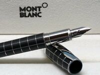 Montblanc starwalker fountain pen metal& rubber