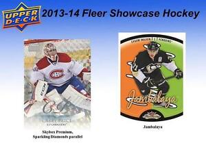 2013-14 Upper Deck Fleer Showcase Hockey Cards Hobby Box Kitchener / Waterloo Kitchener Area image 5