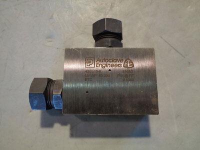 Parker Autoclave 1 High Pressure Elbow 43cl16-k