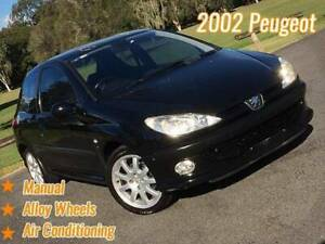 2002 Peugeot 206 GTi Manual MY02 Mansfield Brisbane South East Preview