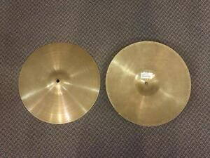 Zildjian Cymbales Hi-Hats 14po usagées/used