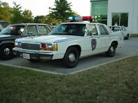 1991 Crown Victoria Police Inceptor Rare Collectable