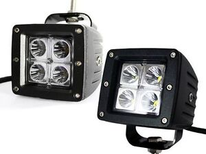 """2"""" Square/Round LED light CLEARANCE! 1 YEAR WARRANTY--> UNIWAY"""