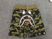 Bape Shorts Khaki