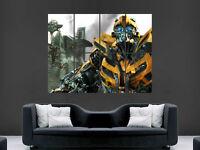 Bumblebee Transformers Large Poster Wall Art Print A0 A1 A2 A3 Maxi