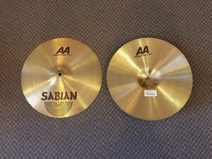 Sabian AA Regular Hats 14po - usagés/used