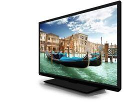 "Toshiba 40"" LED Tv freeview vga scart hdmi Full"