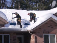 Roof  roof top snow removal