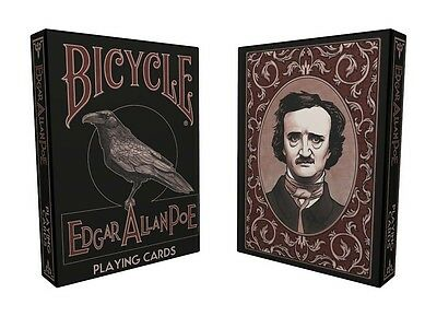 Bicycle Edgar Allen Poe Playing Cards - Limited Edition - NEW SEALED