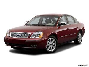 2006 Ford Five Hundred SEL Sedan