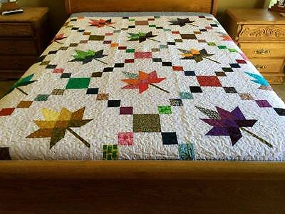 Ca  King size new  Patchwork Machine  quilt #Yp003Qc