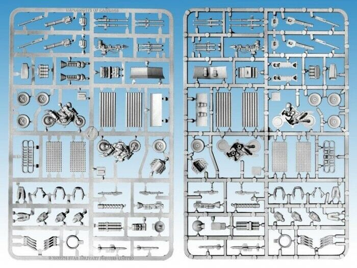 28mm Implements Of Carnage Sprues, Weapons For Gaslands Refueled Models BNIB