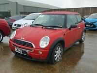 Mini one 2001 red BREAKING
