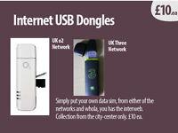 Internet Dongles USB x2 (uk networks)