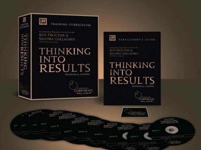 Thinking Into Results Bob Proctor Program NEW - $1,000.00