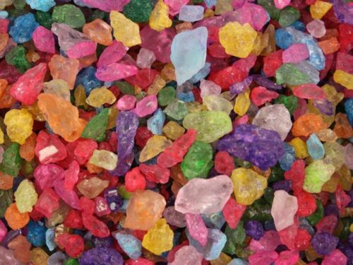 FirstChoiceCandy All Flavors Of Rock Candy Crystals In A 2 LB Resealable Bag
