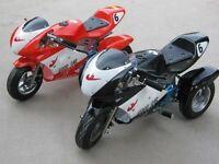 Kids mini moto trike now £350 - electric quads now £599 at kickstart
