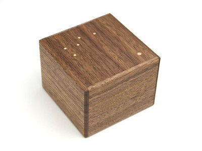 Japanese secret Puzzle gimmick Yosegi Hakone box craft work Cassiopeia Karakuri for sale  Shipping to Canada