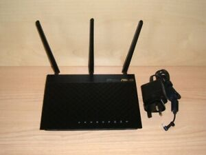 like new ASUS RT-AC66U Dual-Band AC1750 Wireless router