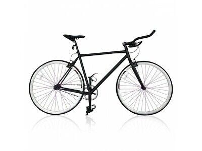 Bicicleta De Carrera Fixie Ruedas 26 Pulgadas Frenos Y Cuadro De Acero...