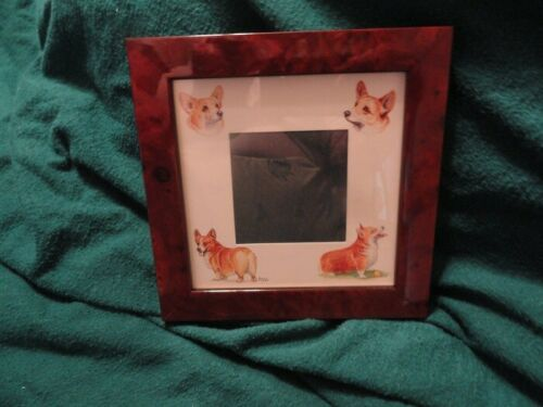 Corgi Frame with Art by Bryn Parry*