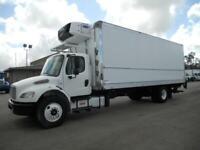 2014 Freightliner 26ft Refrigerated truck International Peterbilt GMC  cummings