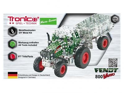 Tronico Micro Series Fendt 800 Vario Traktor mit Kippanhänger ab 12 Jahren