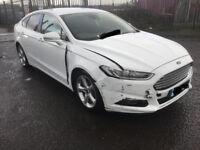 Ford Mondeo mk 5 osf Drivers Rear door glass/ window 15 16 17 reg