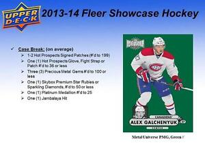 2013-14 Upper Deck Fleer Showcase Hockey Cards Hobby Box Kitchener / Waterloo Kitchener Area image 4