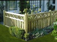 ABSOLUTE BARGAIN HALF PRICE 7X NEW AND UNUSED ELITE CROSS TOP FENCE PANELS