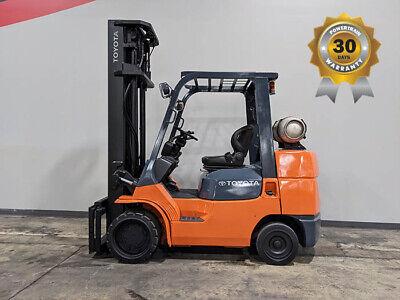 2009 Toyota 7fgcu35 8000lb Cushion Forklift Lpg Lift Truck Hi Lo 105238