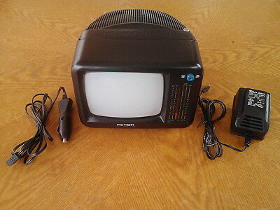 "ACTION 5"" BLACK & WHITE TV, WITH AV IN AM/FM RADIO, MODEL ACN-3511"