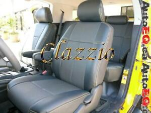 Clazzio Synthetic Leather Seat Covers (Front + Rear Rows) | 2007-2014 Toyota FJ Cruiser