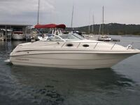 ONE OWNER!99 MONTEREY 262 CRUISER POWWER BOAT 27FT.