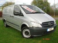 2011 Mercedes Benz Vito 113CDI LONG EURO5 Van 6 door Commercial