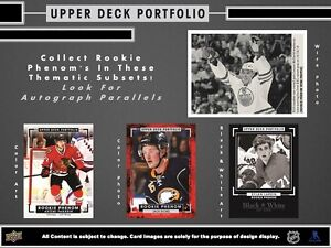 2015-16 Upper Deck Portfolio Hockey Trading Cards Hobby Box Kitchener / Waterloo Kitchener Area image 4