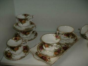 Royal Albert,Old Country Roses - servies (11) - porcelein
