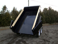 6' x 12' Heavy Durty Dump Trailer
