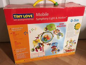 Tiny Love Mobile for your crib with light and music