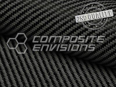 Carbon Fiber Fabric 2x2 Twill 50
